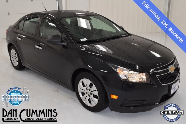 pre owned 2013 chevrolet cruze ls 4d sedan in paris 32209. Black Bedroom Furniture Sets. Home Design Ideas